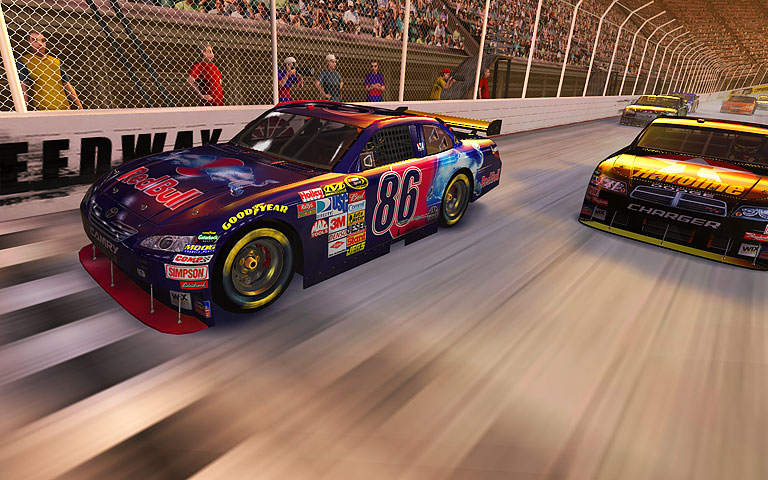 赛车 Stock Car Racing 3D Screensaver