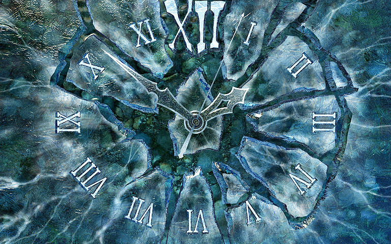 冰时钟 Ice Clock 3D Screensaver