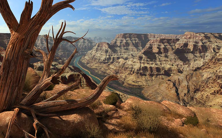 大峡谷 Grand Canyon 3D Screensaver