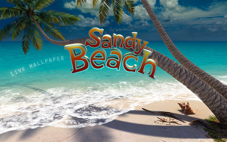 沙滩 Sandy Beach 3D Screensaver